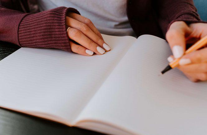 como escrever um diário